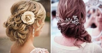 Những kiểu tóc cô dâu đẹp quyến rũ không bao giờ lỗi thời 9