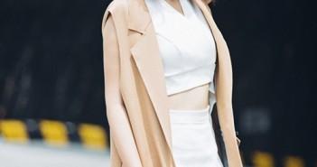 Tóc ngắn ngang vai đẹp của Hoàng Yến Chibi thu hút được nhiều sự chú ý của bạn trẻ 6
