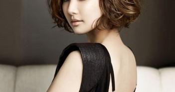 Kiểu tóc ngắn uốn đẹp phong cách cho bạn gái đón xuân 2
