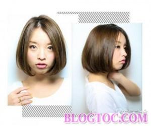 Kiểu tóc bob uốn cụp đẹp 2016 trẻ trung tươi tắn phù hợp cho nhiều kiểu gương mặt 6