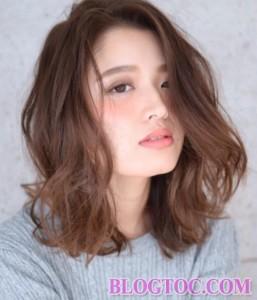 Kiểu tóc chấm vai đẹp xinh xắn đáng yêu trẻ trung cuốn hút đang thịnh hành nhất hiện nay 3