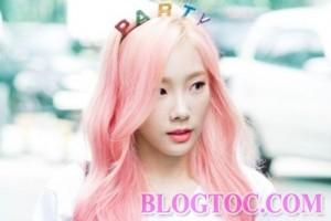 Màu tóc nhuộm đẹp của Tae Yeon trong năm 2016 bạn gái nên học hỏi để tạo phong cách mới trẻ trung năng động hơn 4