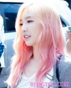 Màu tóc nhuộm đẹp của Tae Yeon trong năm 2016 bạn gái nên học hỏi để tạo phong cách mới trẻ trung năng động hơn 6