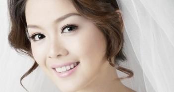 Những kiểu tóc cô dâu đẹp cho nàng mặt tròn thêm xinh xắn đáng yêu 2016 15