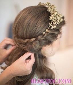 Những kiểu tóc tết cô dâu đẹp sang trọng quý phái bạn gái nên tham khảo để làm đẹp trong ngày cưới 10