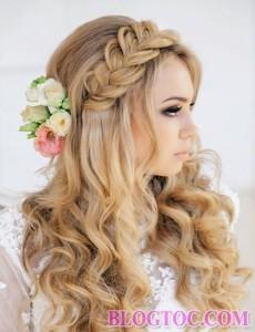 Những kiểu tóc tết cô dâu đẹp sang trọng quý phái bạn gái nên tham khảo để làm đẹp trong ngày cưới 11