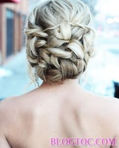 Những kiểu tóc tết cô dâu đẹp sang trọng quý phái bạn gái nên tham khảo để làm đẹp trong ngày cưới 3