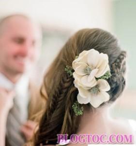 Những kiểu tóc tết cô dâu đẹp sang trọng quý phái bạn gái nên tham khảo để làm đẹp trong ngày cưới 6