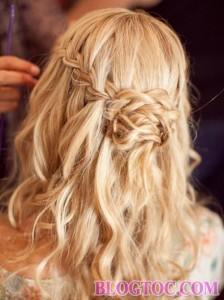 Những kiểu tóc tết cô dâu đẹp sang trọng quý phái bạn gái nên tham khảo để làm đẹp trong ngày cưới 9