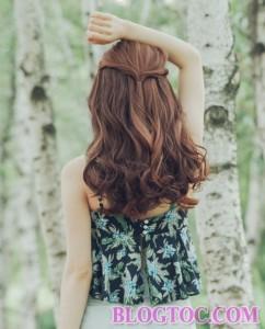Tóc dài xoăn sóng nước đẹp tự nhiên 2016 cho bạn gái nét đẹp quyến rũ dễ thương dịu dàng xinh xắn 4