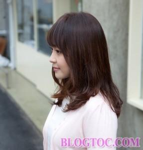 Tóc ngang vai đẹp uốn xoăn trẻ trung phong cách nhất bạn gái nên thực hiện để đổi mới mình 19