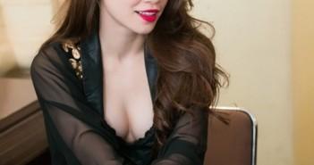 Các kiểu tóc dài đẹp của sao Việt ấn tượng quyến rũ nhất 9