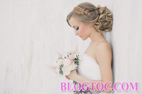 Các kiểu tóc cô dâu đẹp mà chú rể thích nhất trong năm 2016 3