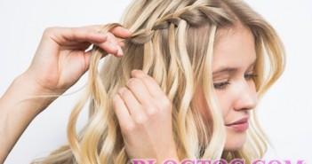 Cách tết tóc thác nước đẹp dịu dàng cho ngày nghĩ cuối tuần 4