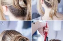 Cách búi tóc đẹp gọn gàng được nhiều bạn gái tìm kiếm nhất trong mùa đông 1