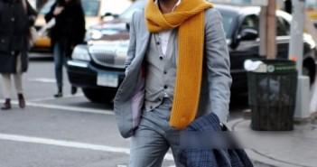Cách choàng khăn đẹp cho nam lịch lãm phong cách nhất thu đông 3
